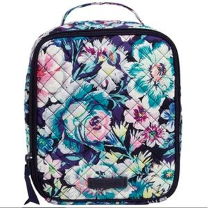 Vera Bradley Lunch Bunch Bag in Garden Grove Print